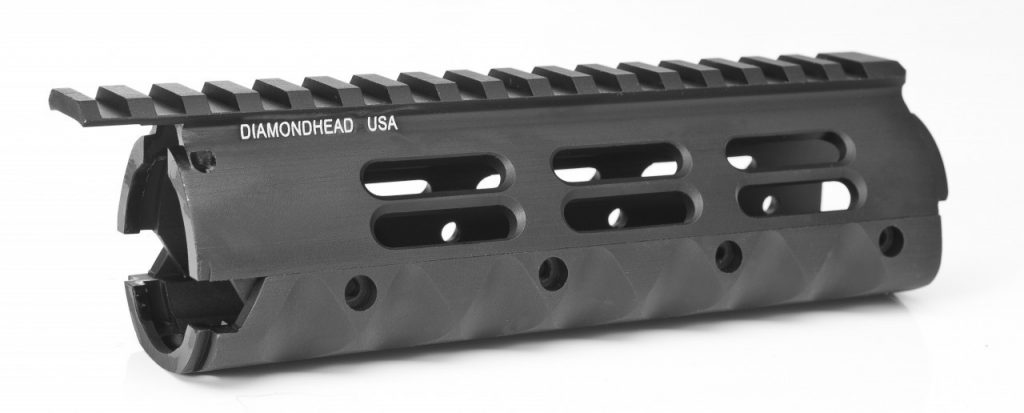 black handguard that is made to be a drop in piece