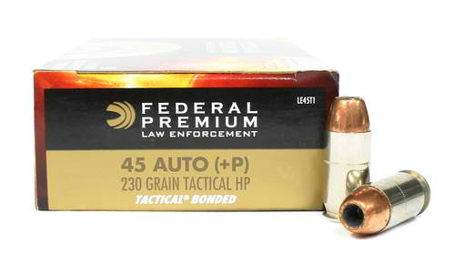 image of Federal 230 gr Tactical Bonded +P