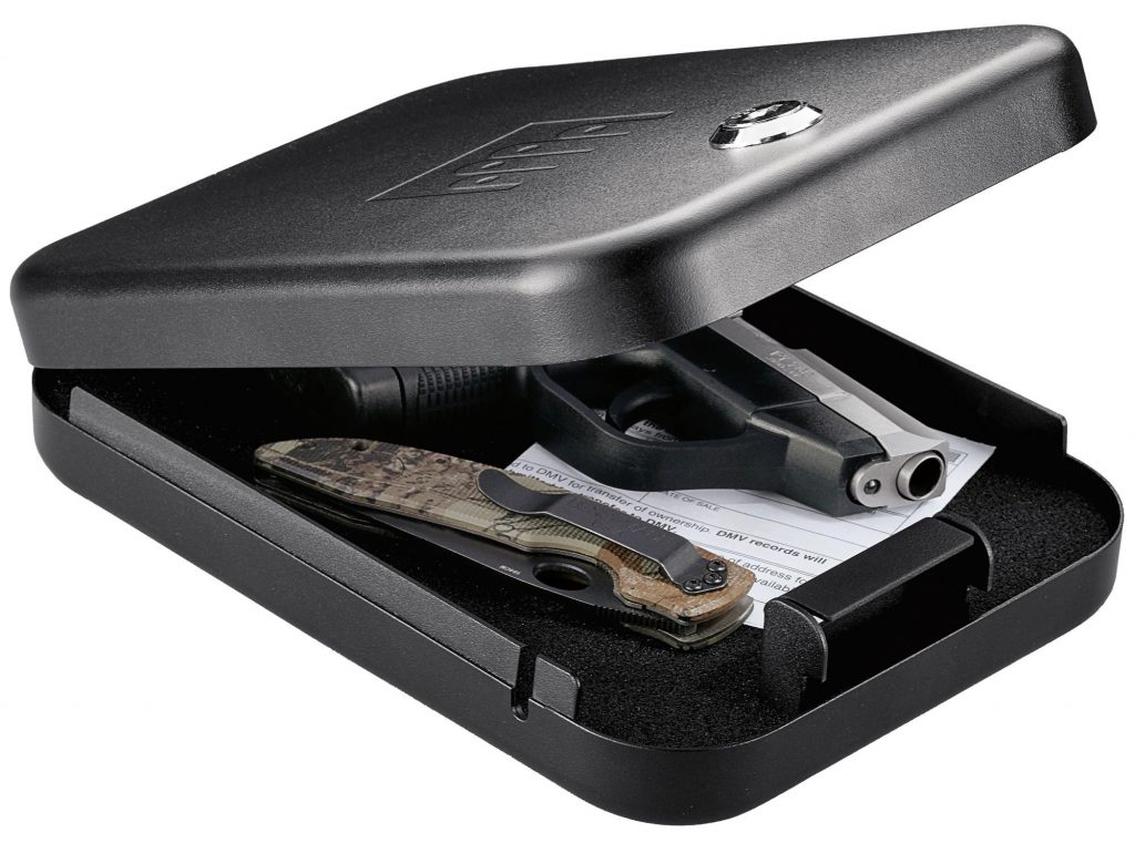 product image of the GunVault NV100 NanoVault with Key Lock in 2017