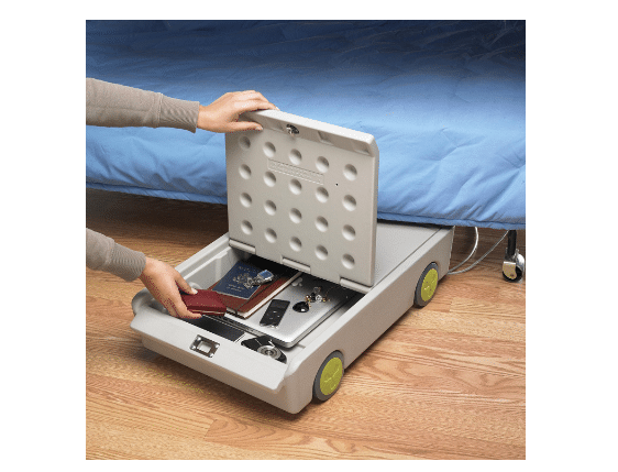 image of the Lock & Roll Under-Bed Personal Safe
