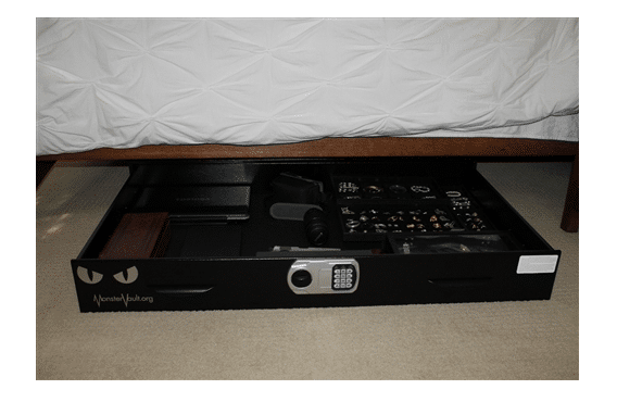 image of the Monster Vault Under The Bed Safe