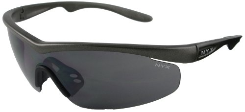 safety eyewear for shooting in black
