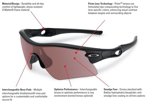 image showing the spec of these shooting glasses