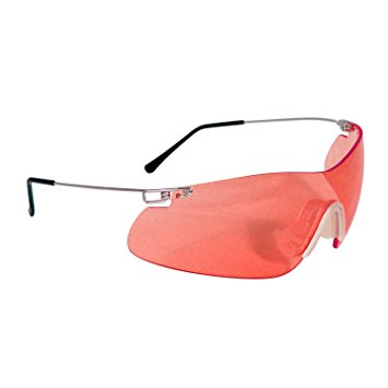 image of some red glasses for firearms training