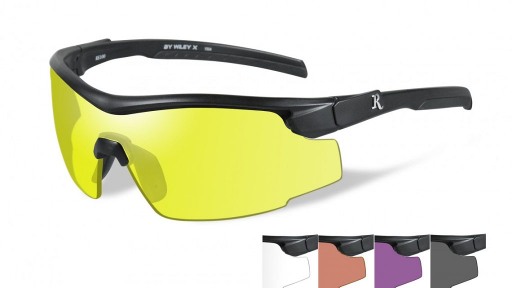 yellow remington safety eyewear
