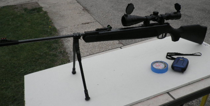 image of the blackhawk being used as a sniper rifle