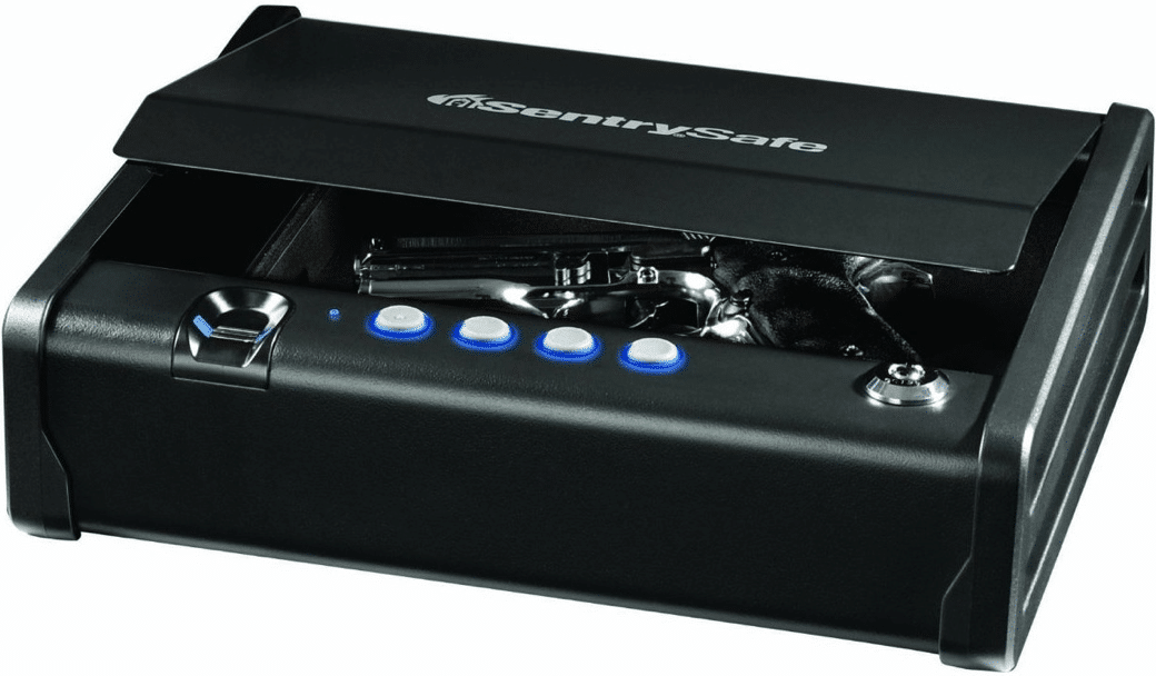 image of the Sentry Safe Biometric Quick Access Pistol Safe