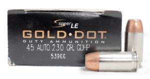 image of Speer 230 gr Gold Dot