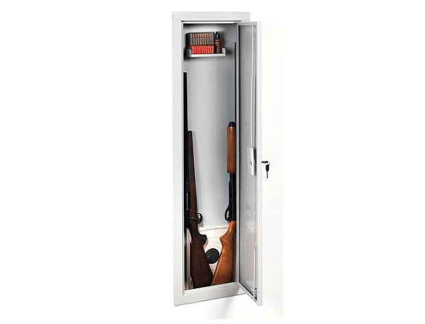 image of the Stack-on IWC-55 Full-length In-Wall Cabinet