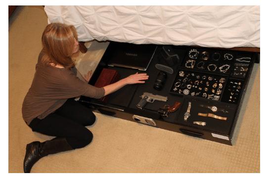 image of the Titan Under Bed Safe