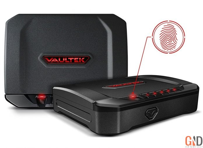 image of the Vaultek VT10I Lightweight Biometric Bluetooth Smart Safe