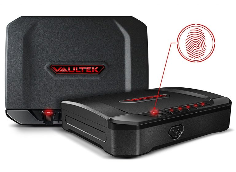 image of VAULTEK VT10i Lightweight Biometric Handgun safe in 2017