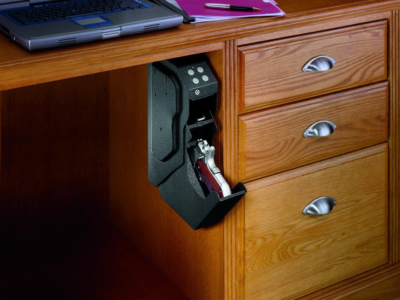 image of biometric gun safe
