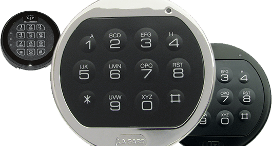 image showing digital keypad