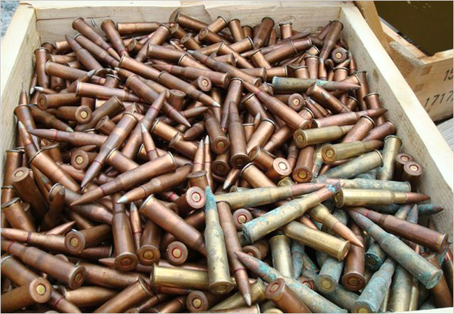 old ammo that might be corrosive