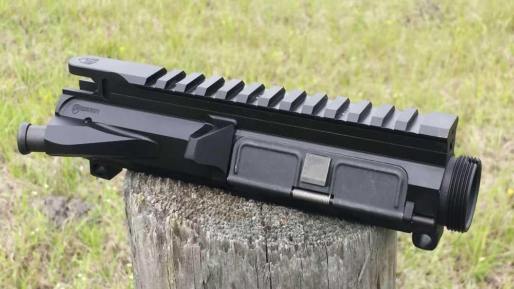image showing some of the parts of an ar15 upper receiver