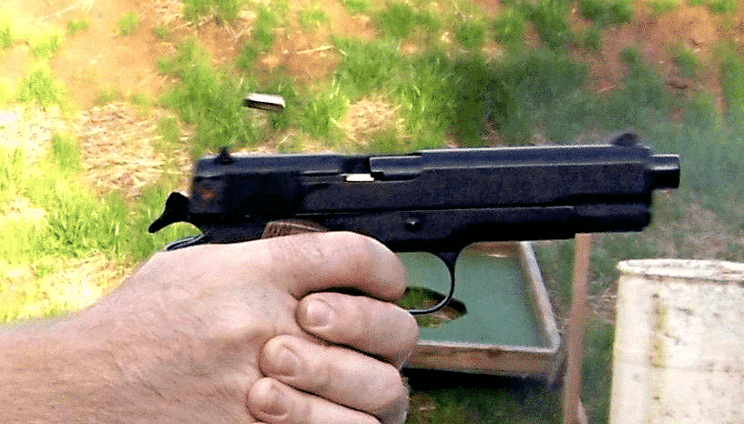 image of a 22 pistol