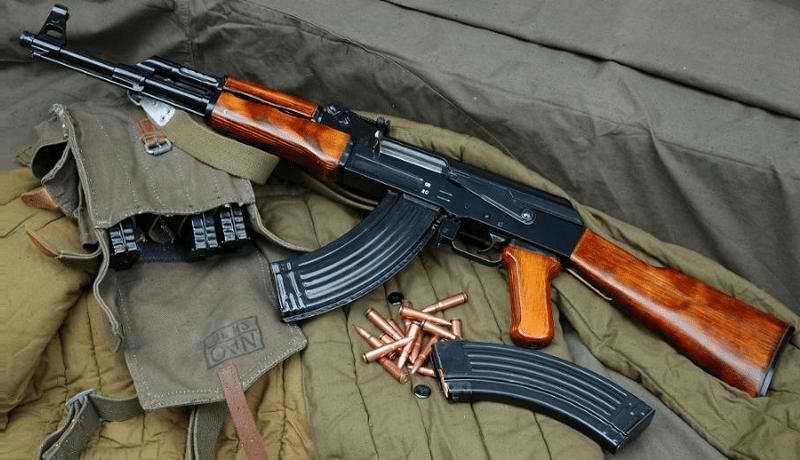 image of an AK7 Rifle