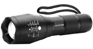 image of Grace Top Tactical LED Flashlight
