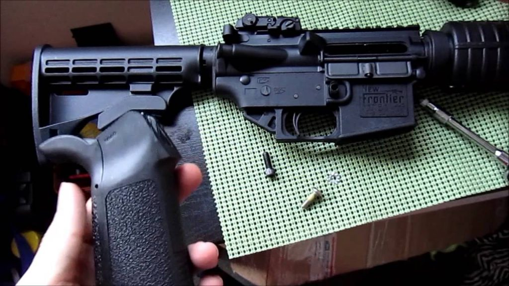 image of Pistol Grip Removal