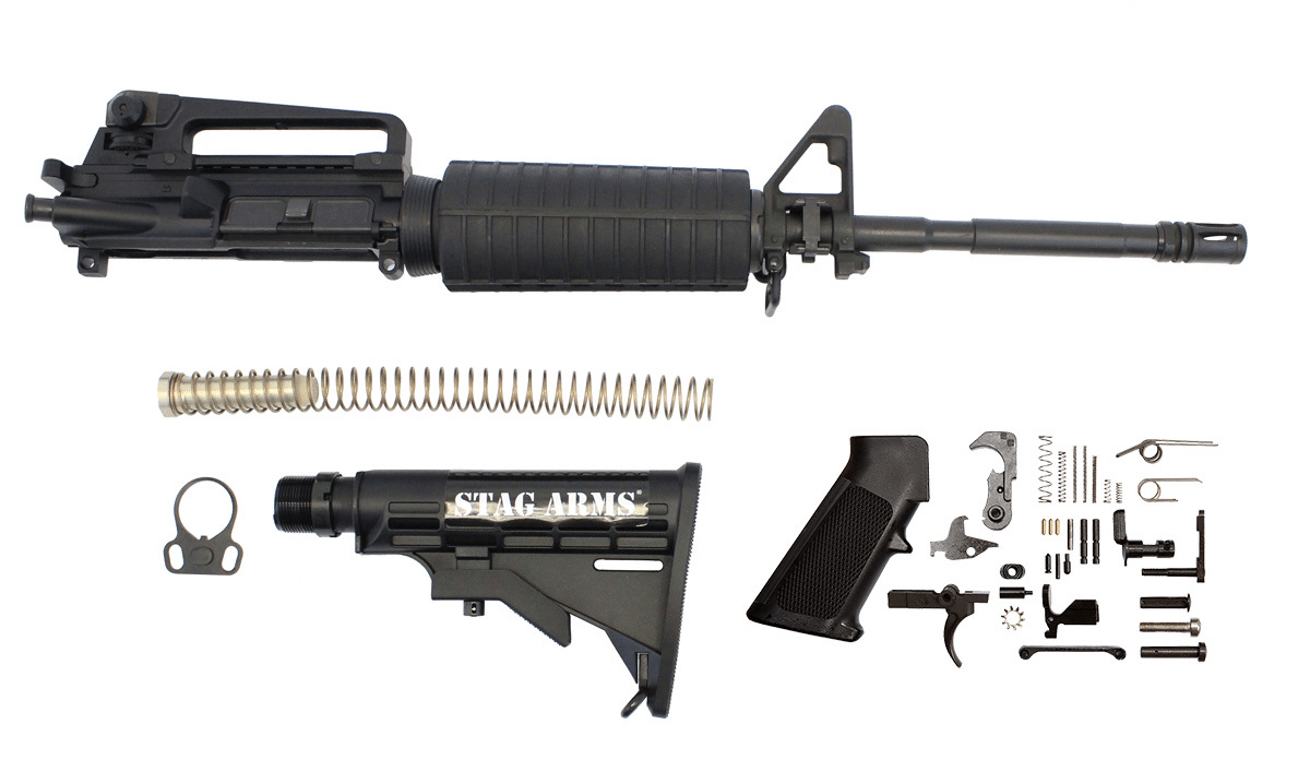 How To Build a Featureless AR-15 (Using Only Legal Parts)