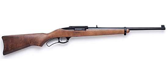 gun photo of the Ruger 96-44 lever action rifle in use in 2017