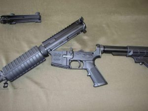 image of AR15 Receivers Splitted