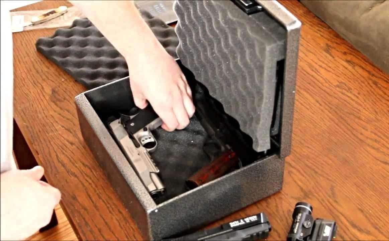 image of Bedside Gun Safe