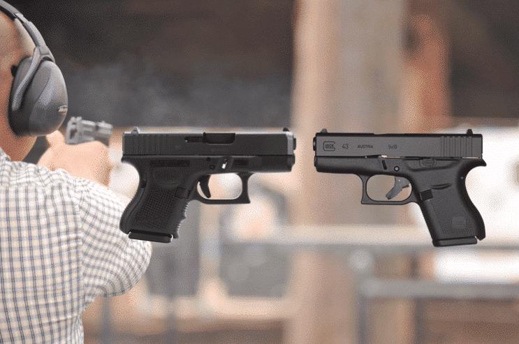 image of Glock 26 vs Glock 43