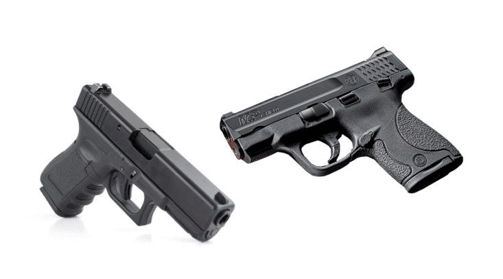 image of Glock 43 vs Shield