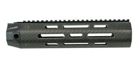 image of Lancer LCH5-08-V-1-2R Octagon Carbon Fiber Handguard