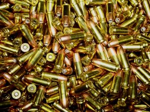 picture of hundreds of 9mm ammo