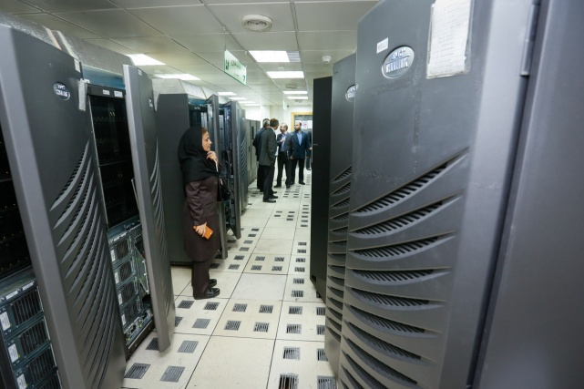 image of internet servers