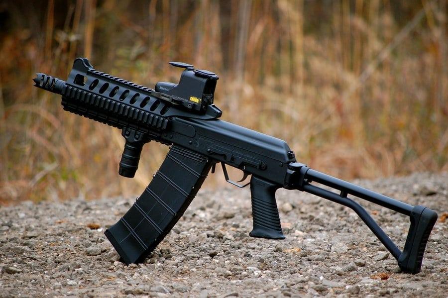 image of a Keymod Rifle