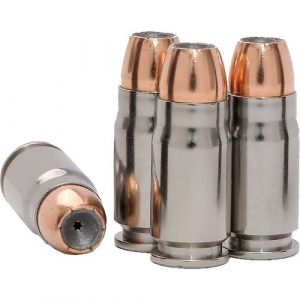 a picture of four 357 sig hollow points