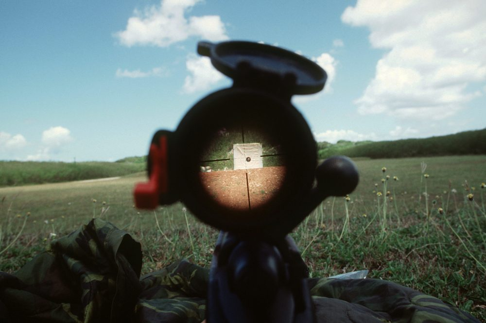 image of a rifle scope