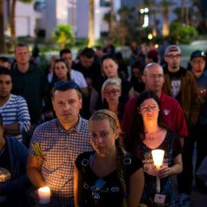 las vegas mourning massacre