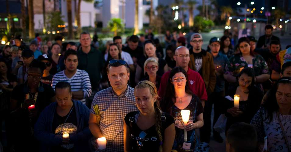 las vegas mourning massacre