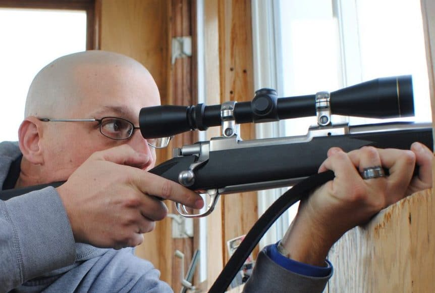 image of a Rifle Hunting Scope