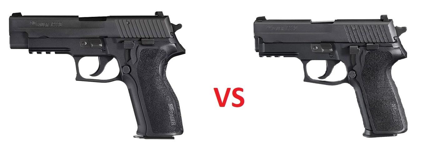 Handgun Showdown Round 6: SIG P226 vs. SIG P229