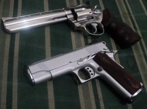 a picture of my personal handguns