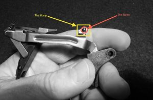 a picture of a glock trigger system