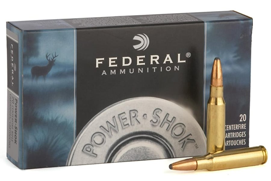 image of Federal - Power-shok Ammo 30-06 Springfield 150gr