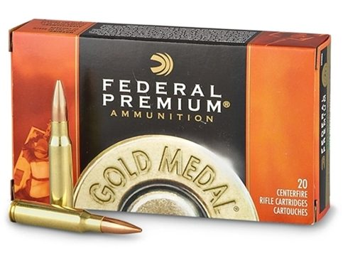 image of Federal - Gold Medal Match Ammo 300 Win Mag 190gr