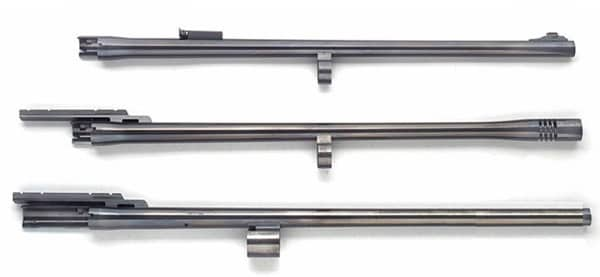 a picture of different shotgun barrel lengths