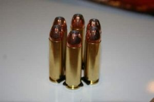 a picture of 10mm Magnum cartridges