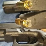 a picture of Glock 20 and Glock 21 Mags