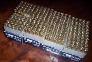 a picture of 44 magnum boxes