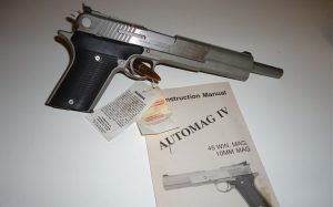 a picture of the AMT AutoMag 10mm Magnum