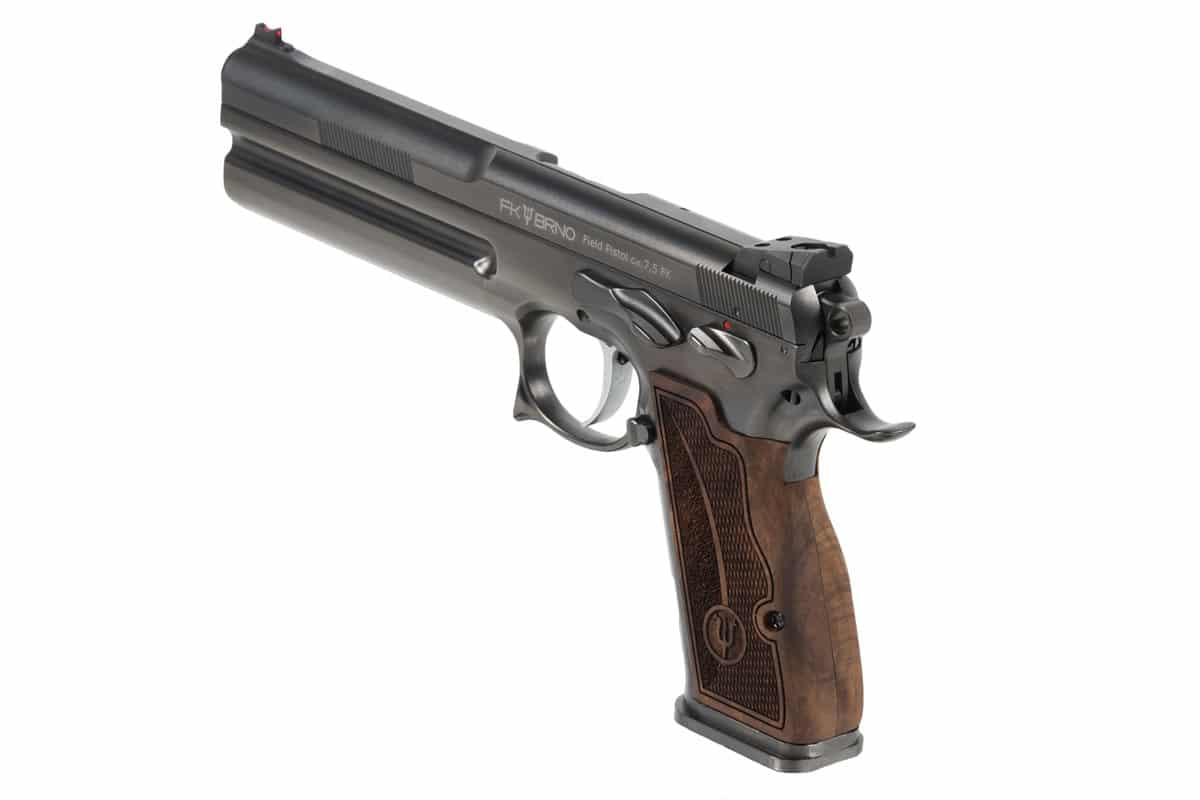 a picture of the FK Field Pistol's Wood Grips